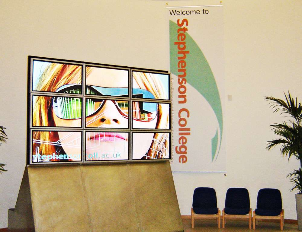 Large Video Wall